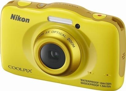 Nikon COOLPIX S32 yellow backpack kit