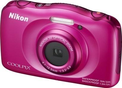 Nikon COOLPIX S33 PinkBackpack KIT