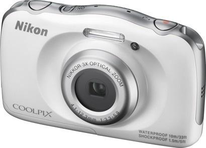 Nikon COOLPIX S33 WhiteBackpack KIT