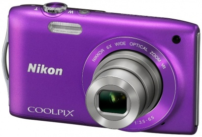 Nikon COOLPIX S3300 Purple