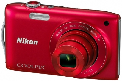 Nikon COOLPIX S3300 Red
