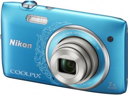 Nikon COOLPIX S3500 Blue Lineart