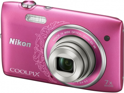Nikon COOLPIX S3500 Pink Lineart