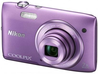 Nikon COOLPIX S3500 Purple