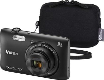 Nikon COOLPIX S3600 Black + Varia 10 Black
