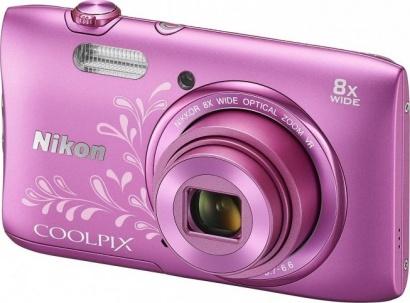 Nikon COOLPIX S3600 Pink Lineart