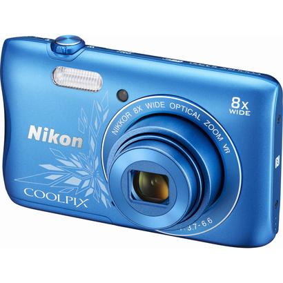 Nikon COOLPIX S3700 Blue Lineart