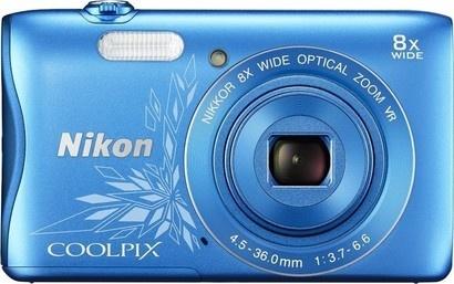 Nikon Coolpix S3700 blue lineart + pouzdro + SDHC 8GB
