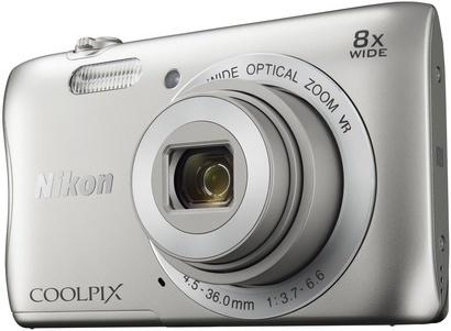 Nikon Coolpix S3700 silver + pouzdro Yenkee
