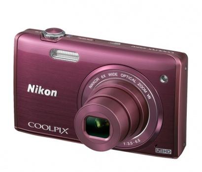 Nikon COOLPIX S5200 Plum