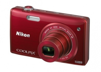 Nikon COOLPIX S5200 Red