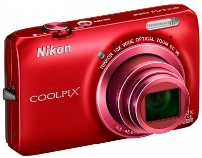 Nikon COOLPIX S6300 RED