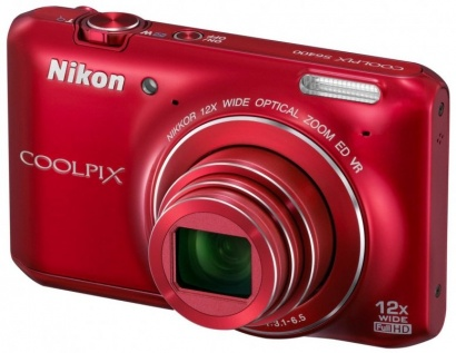 Nikon COOLPIX S6400 RED