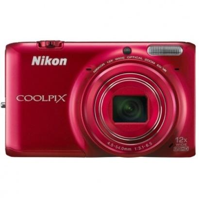 Nikon COOLPIX S6500 Red