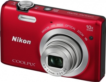 Nikon COOLPIX S6700 Red
