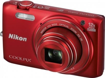 Nikon COOLPIX S6800 Red