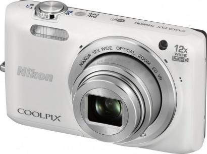 Nikon COOLPIX S6800 White