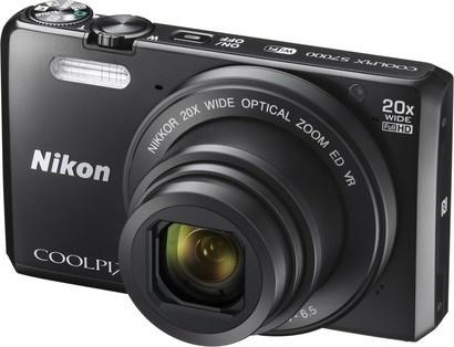 Nikon Coolpix S7000 Black + pouzdro