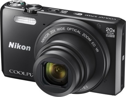 Nikon COOLPIX S7000 Black + pouzdro + 8GB SD karta