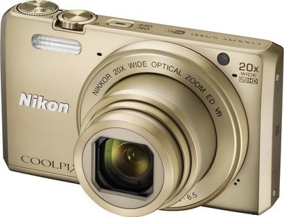Nikon Coolpix S7000 Gold + pouzdro + 8GB