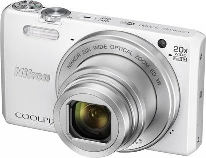 Nikon Coolpix S7000 White + pouzdro