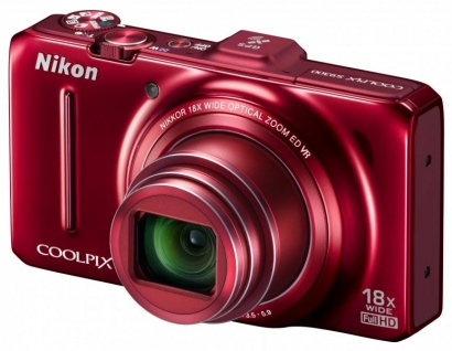 Nikon COOLPIX S9300 Red