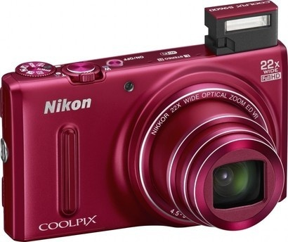 Nikon COOLPIX S9600 Red