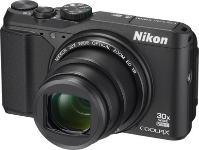 Nikon COOLPIX S9900 Black + 8GB SD karta