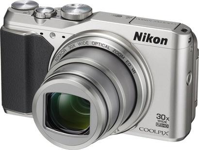 Nikon Coolpix S9900 SILVER + 8GB SD Card