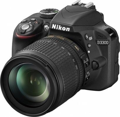 Nikon D3300 + 18-105 + SDHC 16GB