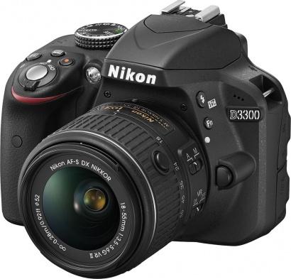 Nikon D3300 + 18–55 VR II