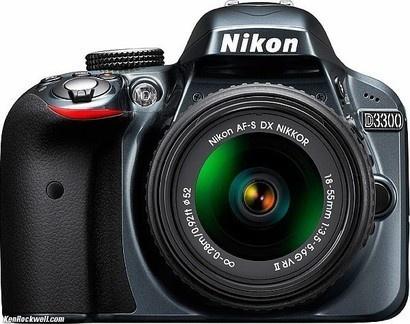 Nikon D3300 GREY + 18–55 VR II