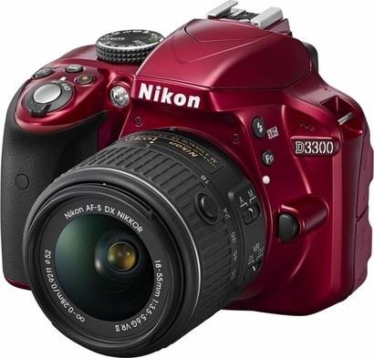 Nikon D3300 RED + 18–55 VR II