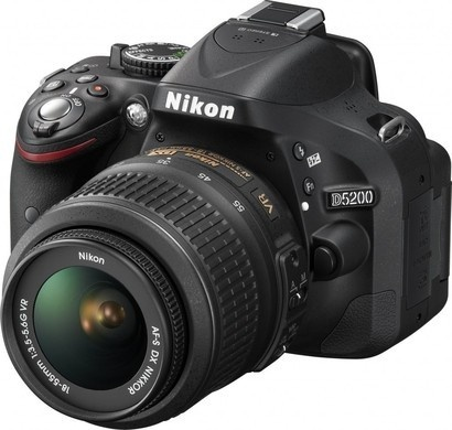 Nikon D5200+18-55VR+brašna