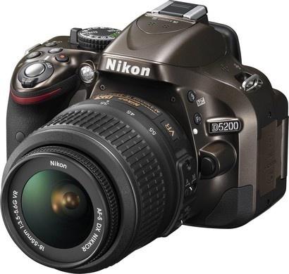 Nikon D5200 Bronze + 18-55 AF-S DX VR II
