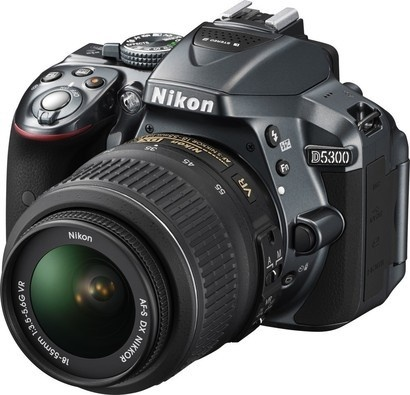 Nikon D5300 GREY + 18-55 AF-S DX VR II