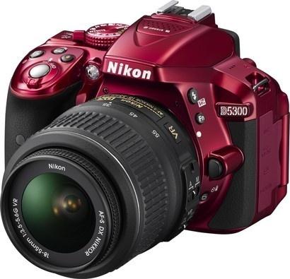 Nikon D5300 RED + 18-55 AF-S DX VR II