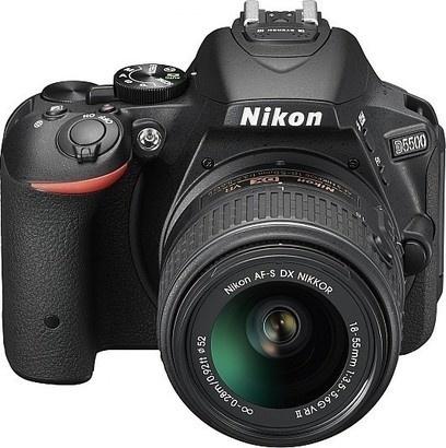 Nikon D5500 + 18-55mm + 55-200 VR II