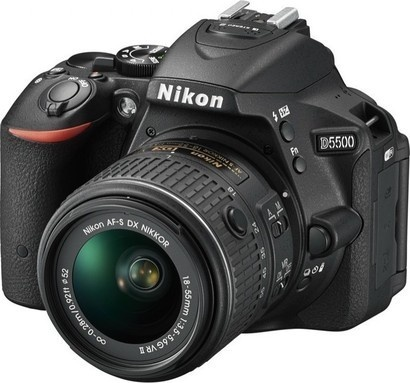 Nikon D5500 + 18-55mm VR II Black KIT