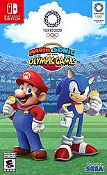 Nintendo Mario & Sonic at the Tokyo Olymp. Game