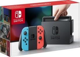 Nintendo Switch red blue Joy-Con