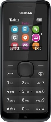 Nokia 105 Black (new)