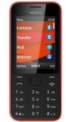 Nokia 208 SS Red