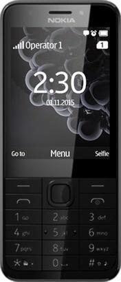Nokia 230 SS Dark Silver