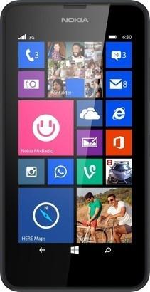 Nokia 630 Lumia SS Black