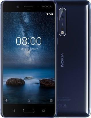 Nokia 8 DS Matt Blue