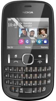 Nokia Asha 200 Graphite