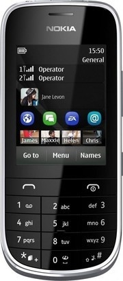 Nokia Asha 202 Black