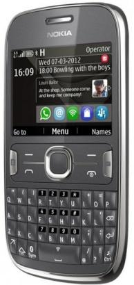 Nokia Asha 302 Grey