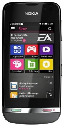Nokia Asha 311 Dark Grey
